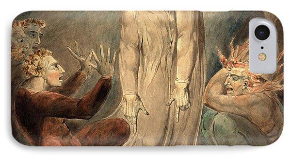 William Blake, British 1757-1827, The Ghost Of Samuel IPhone Case