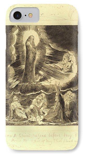 William Blake, British 1757-1827, The Vision Of Eliphaz IPhone Case