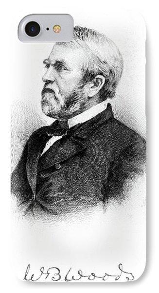 William Burnham Woods (1824-1887) IPhone Case by Granger