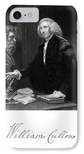 William Cullen (1710-1790) Phone Case by Granger