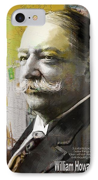 William Howard Taft IPhone Case by Corporate Art Task Force