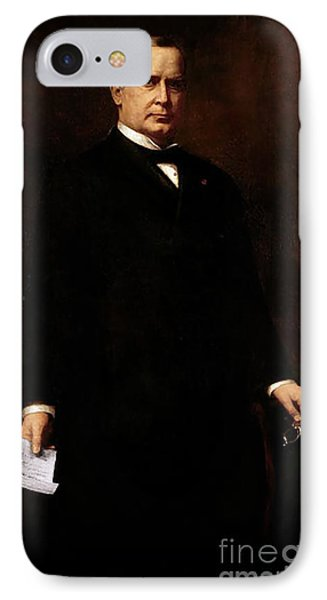 William Mckinley IPhone Case by August Benziger