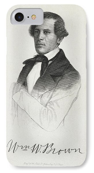 William W. Brown IPhone Case by British Library