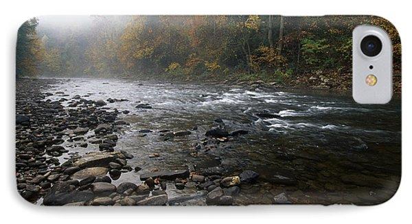 Williams River Autumn Mist Phone Case by Thomas R Fletcher