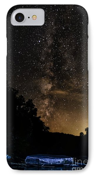 Williams River Milky Way IPhone Case by Thomas R Fletcher