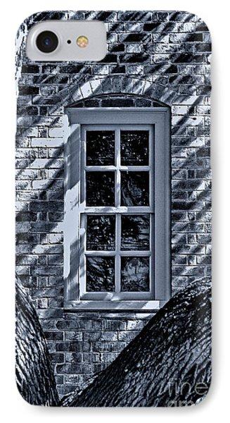 IPhone Case featuring the photograph Williamsburg Window by Nigel Fletcher-Jones