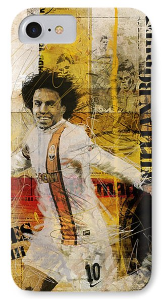 Willian Borges Di Silva IPhone Case by Corporate Art Task Force