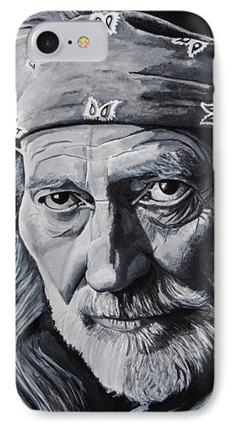 Willie  IPhone Case by Brian Broadway