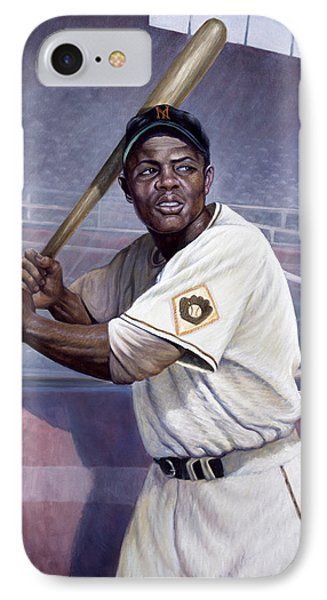 Willie Mays IPhone Case by Gregory Perillo