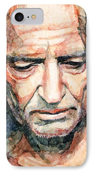 Willie Nelson  IPhone Case by Laur Iduc
