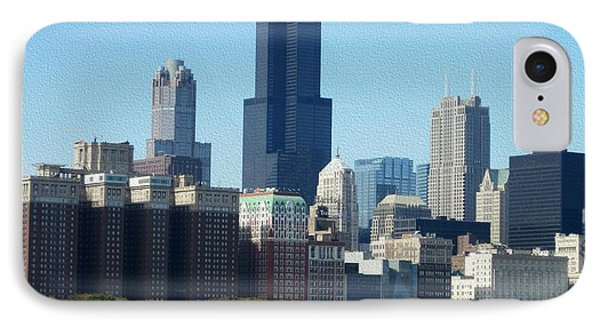 Willis Tower IPhone Case by Kathie Chicoine