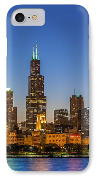 Willis Tower IPhone Case by Sebastian Musial