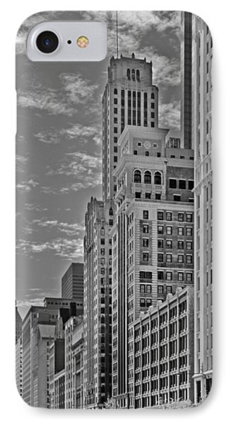 Willoughby Tower And 6 N Michigan Avenue Chicago  Phone Case by Christine Till