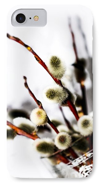willow in color in a Glass IPhone Case by Tommytechno Sweden