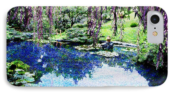 Willow Pond IPhone Case by Jeanette Brown