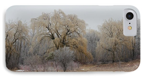 Willow Trees Iced IPhone Case