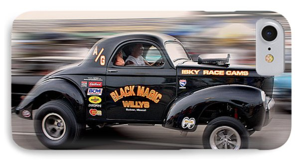 IPhone Case featuring the photograph Willys Gasser by Christopher McKenzie