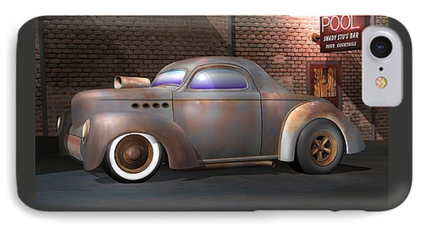 Willys Street Rod IPhone Case