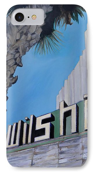 Wilshire IPhone Case by Lindsay Frost