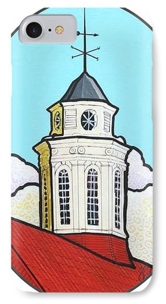 Wilson Hall Cupola - Jmu IPhone Case by Jim Harris