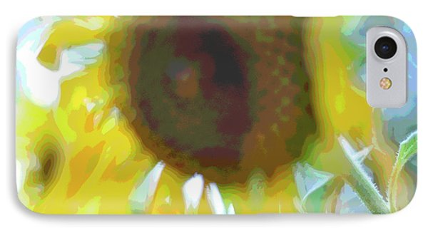 'wilted' Abstract IPhone Case by Joanne Brown