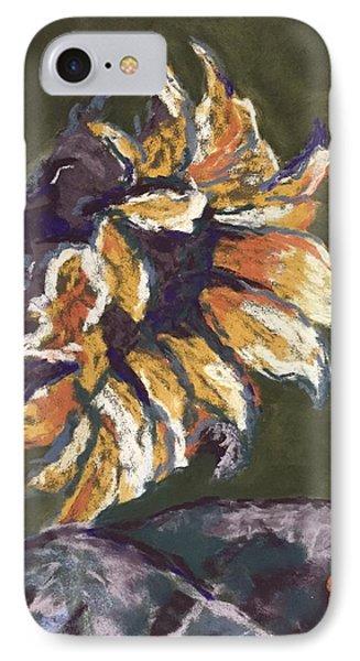 Wilting Sunflower Phone Case by Cristel Mol-Dellepoort