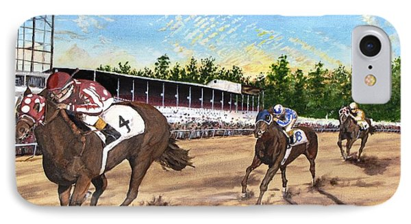 Win Place Show IPhone Case by Kevin F Heuman
