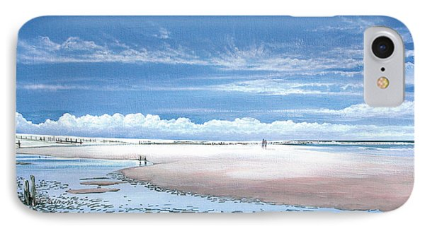 Winchelsea Beach Phone Case by Steve Crisp