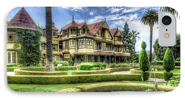 Winchester Mystery House IPhone Case by Jim Thompson
