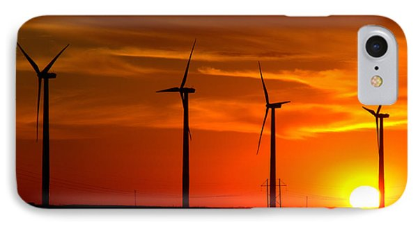 IPhone Case featuring the photograph Wind And Solar 1 by Jim McCain