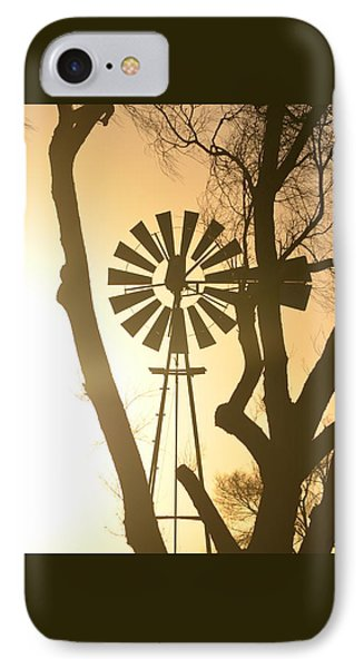 Spinning In The Sundown IPhone Case by Clarice  Lakota