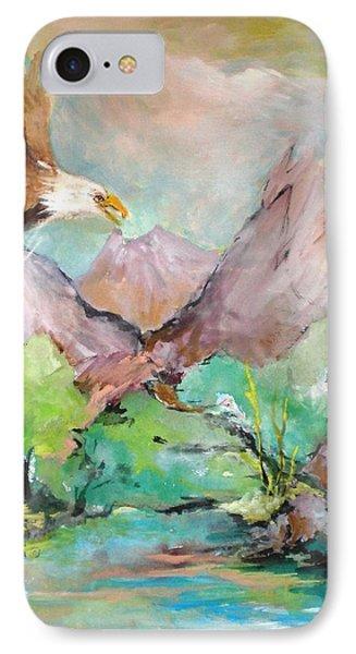 Wind Beneath My Wings Phone Case by Mary Spyridon Thompson