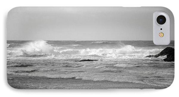 Wind Blown Waves Tofino IPhone Case by Roxy Hurtubise