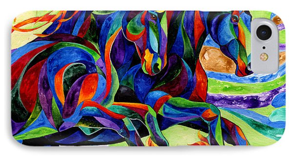 Wind Dancers Phone Case by Sherry Shipley