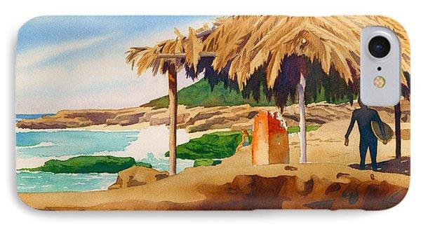Wind 'n Sea Beach La Jolla IPhone Case by Mary Helmreich