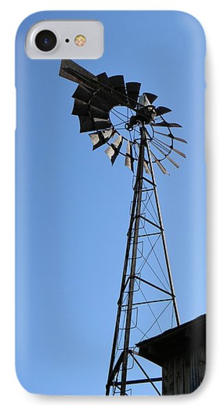 Wind On The Farm IPhone Case by Jean Goodwin Brooks
