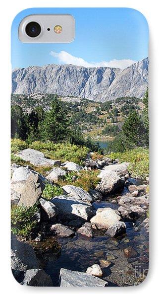 Wind River Range IPhone Case