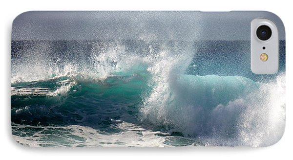 Wind Spray IPhone Case by Lori Seaman