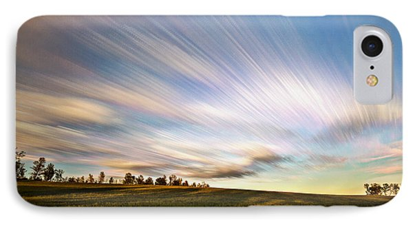 Wind Stream Streaks IPhone Case by Matt Molloy