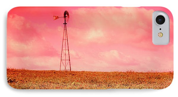 Wind Turbine In A Field, Amish Country IPhone Case by Panoramic Images