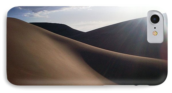 Windblown Curves IPhone Case by Carlee Ojeda