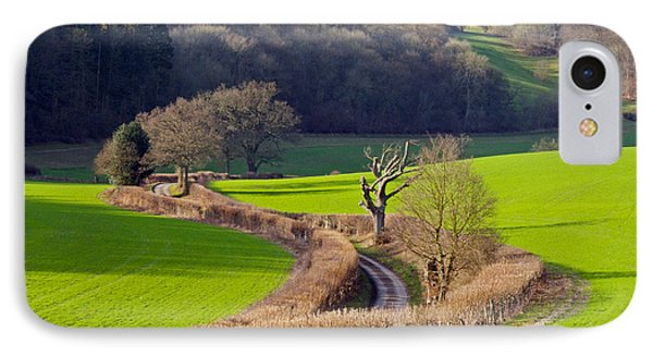 Winding Country Lane IPhone Case by Tony Murtagh