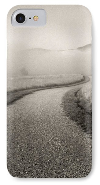 Winding Path And Mist Phone Case by Marilyn Hunt