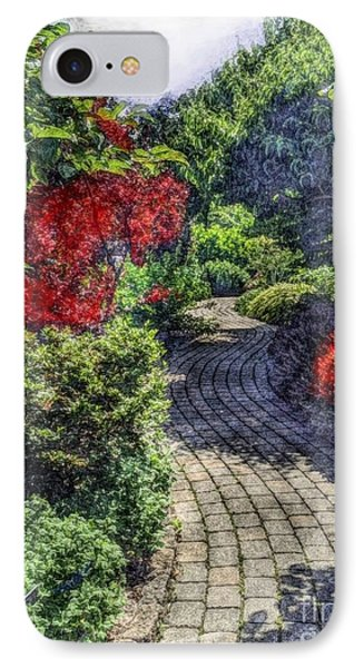IPhone Case featuring the photograph Winding Path  by Becky Lupe