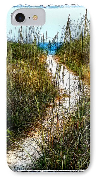Winding Path IPhone Case by Linda Olsen