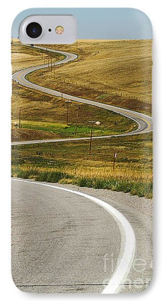 IPhone Case featuring the photograph Winding Road by Sue Smith