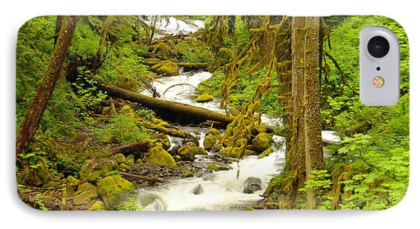 Winding Through The Forest Phone Case by Jeff Swan