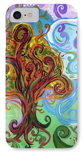 Winding Tree Phone Case by Genevieve Esson