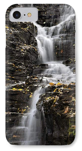 IPhone Case featuring the photograph Winding Waterfall by Christina Rollo