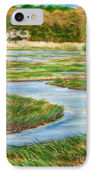Winding Waters - Cape Salt Marsh Phone Case by Michelle Wiarda